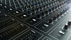 table de mixage wallpaper